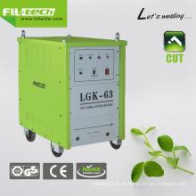Cortador del plasma del aire de la compresión para el corte profesional (LGK-40/63/100/160)