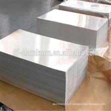 Feuille d'aluminium mince brossée et fraisée