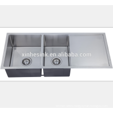 Stainless Steel Square Undermount Kitchen Handmade Sink for American Kitchen