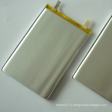 Batterie lithium-lithium de 3.7V Batterie Li-Polymer 4000mAh 606090 pour batteries électriques