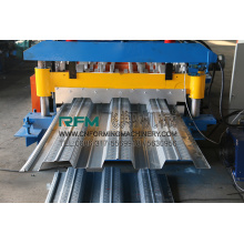 Galvanized Steel Sheet Lantai Deck Roll Forming Machine