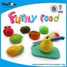 Brinquedo engraçado da fruta do brinquedo de DIY para miúdos