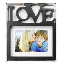 "5""X7"" Plastic Photo Frame With Letter Love"