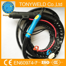 wp-18 series water cooled tig welding torch