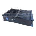 Doppelter COM industrieller fanloser Mini PC Computer Intel-Kern-I3 4010u dünner PC-Server-Spiel-PC VGA HDMI