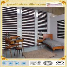 Kundenspezifische Mutiple Farben Hohes quanlity Konkurrenzfähiger Preis Zebrajalousien Fensterjalousien Vertikale Vorhänge
