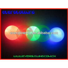 green light glow golf balls hot sell 2016