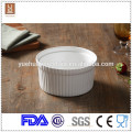 "2015 porcelain bulk white decorative 6.5"" ceramic fruit bowl"