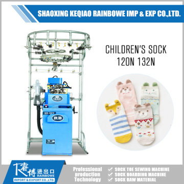 Excellent quality for Single Cylinder Sock Knitting  New Technology Children's Sock Machine supply to Bermuda Factories