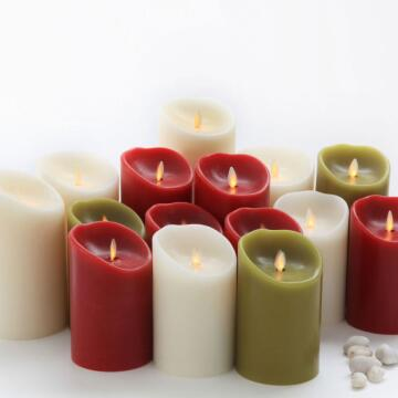 5 inch Luminara Flameless Wax Candles