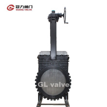 48inch ANSI16.5 Mss Sp-81 Knife Gate Valve