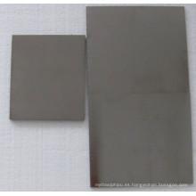 Hoja de 99.95% molibdeno / placa en zafiro