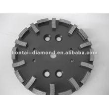 Muela diamantada para hormigón duro