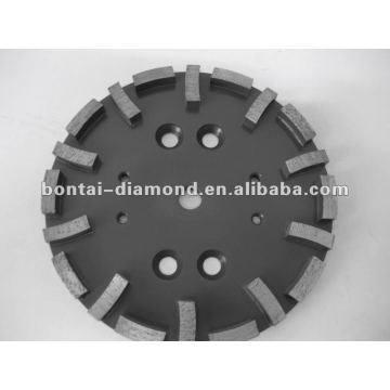 Grinding wheel for concrete and stone