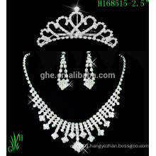 2015 New Arrival Fashion Wedding Jewelry Tiara Crown