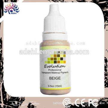 Super pigment, natural eyebrow permanent makeup ink use