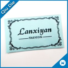 Low MOQ Best Quality Folded Cloth Label Woven