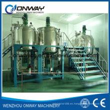 Pl Empaquetamiento de Acero Inoxidable Mezclador de Mezcla de Aceite Mezclador de Mezclador de Azúcar Mezclador Mezclador de Solución de Azúcar