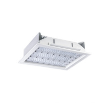 150lm/w 150W recessed led downlight with Lumileds 3030 chips For gasoline cap filling station