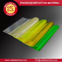 High visibility prismatic reflective PVC sheet