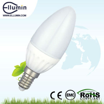 good price 3w dimmable 3w led candle bulbs light e14
