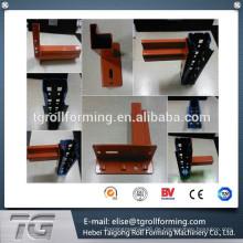 High-Point-Säule Professional Kundenspezifische Supermarkt Waren Regal Roll-Formmaschine