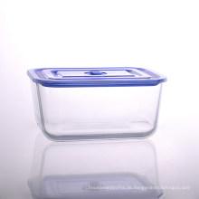 Großer Aufbewahrungsbehälter aus Glas mit 102oz Kapazität