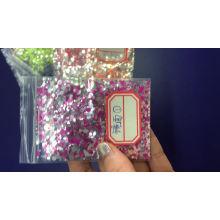Nouveau produit Glitter miroir pour nail art et cosmétique 12color miroir glitter