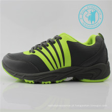 Homens Sport Shoes Respirável Malha Injeção Outsole (SNC-011329)