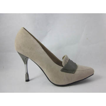 Fashion MID High Heel Pointed Toe Dress Shoes (HCY03-001)