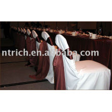 Polyester chair cover,banquet/hotel chair covers,satin chair cover