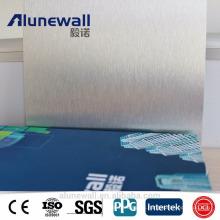 painel composto de alumínio decorativo do painel de parede / folha de alumínio para a mobília da cozinha