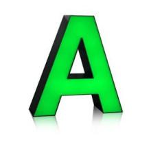 Высокое качество светодиодный Алюминиевый акриловые письма канала СИД знака