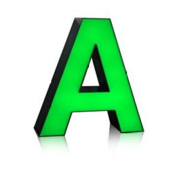 Las letras de canal de acrílico de aluminio de alta calidad LED firman el LED