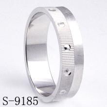 Anillo de la boda de la plata esterlina de la manera 925 / anillo de la joyería del contrato (S-9185)