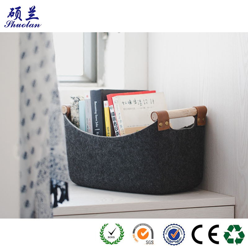 Customzied Color Felt Basket