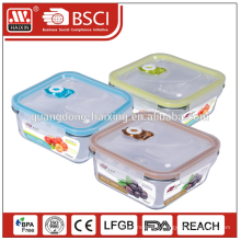 Storage wholesales clear food glass container