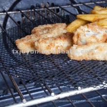 PTFE Coated Fiberglass Food Grade Grill Mesh Tray