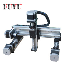 aluminum linear guide rail  XYZ stage