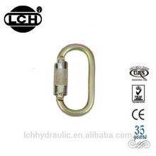 24kn steel carabiner hook with steel carabiner