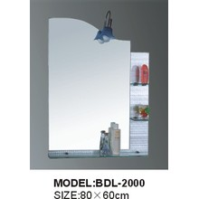 5mm Thickness Silver Glass Bathroom Mirror (BDL-2000)
