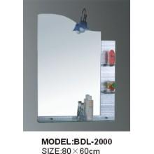 5mm Dicke Silber Glas Badezimmer Spiegel (BDL-2000)