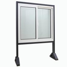 Última ventana de deslizamiento de aluminio de doble acristalamiento de diseño