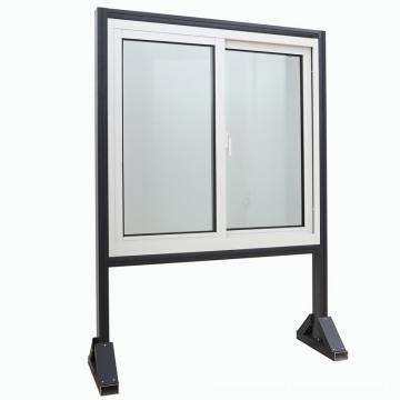 Dernière fenêtre coulissante en aluminium de glaçage de conception