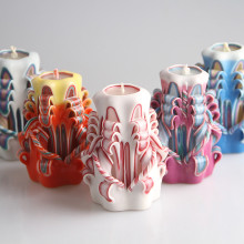 Custom Affordable Decorative Hand Carved Craft Candles
