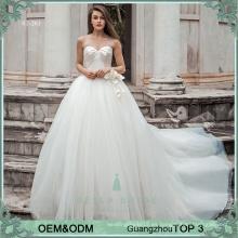 Vestidos de boda atractivos para los vestidos de boda de encargo del tamaño del tamaño más para el vestido nupcial verdadero de la imagen de la muestra de Filipinas