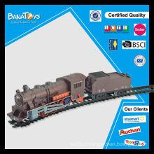Hot item bateria operado trem ferroviário brinquedo