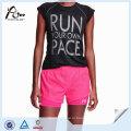 Популярные пользовательские легкий вес Breathable Stretch Women Wholesale Running Shorts