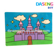 Educational sand art drawing board set