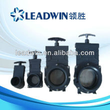 pvc 1-1/4 inch gate valve with high quality